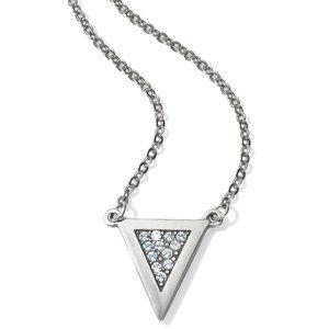 Contempo Ice Reversible Petite Triangle Necklace